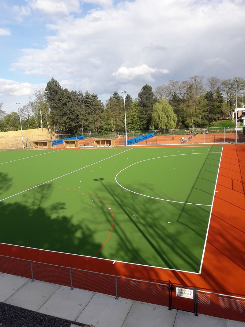 Hockey waterveld installatie Luik